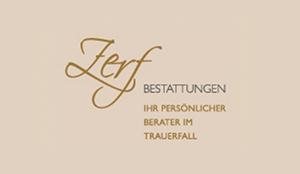 Logo - Zerf Bestattungen in Speyer
