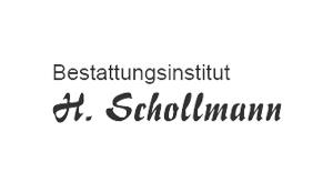 Logo - Bestattungen Schollmann in Duisburg