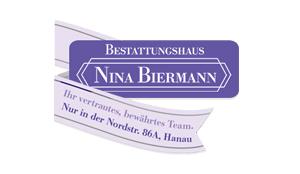 Logo - Bestattungshaus Nina Biermann in Hanau